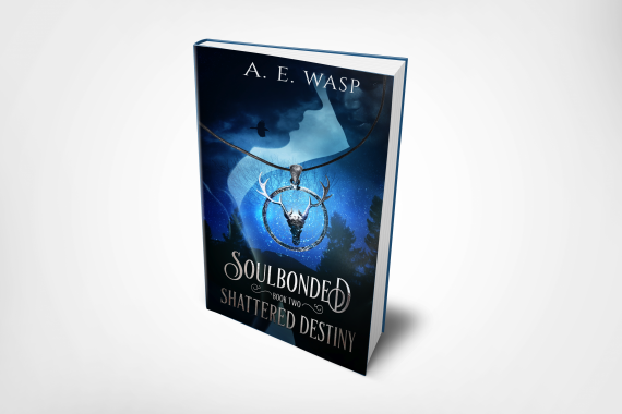 Shattered destiny 6x9 hardcover mockup transparent bg