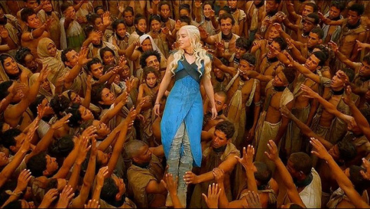 Daenerys Targaryen as White Savior.